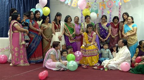 hindu baby shower rituals an indian hindu baby shower ceremony at sanatan mandir