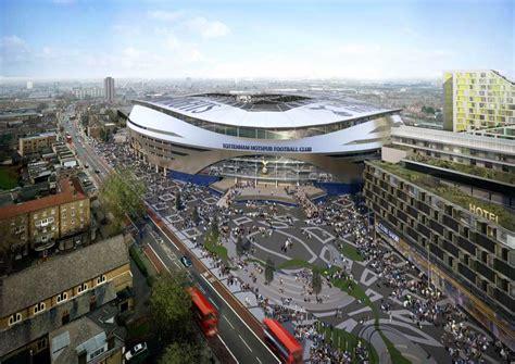 Architecture Design For Home Tottenham Football Stadium E Architect