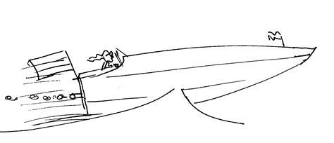 speedboot planeren lengte loopt waar of niet waar