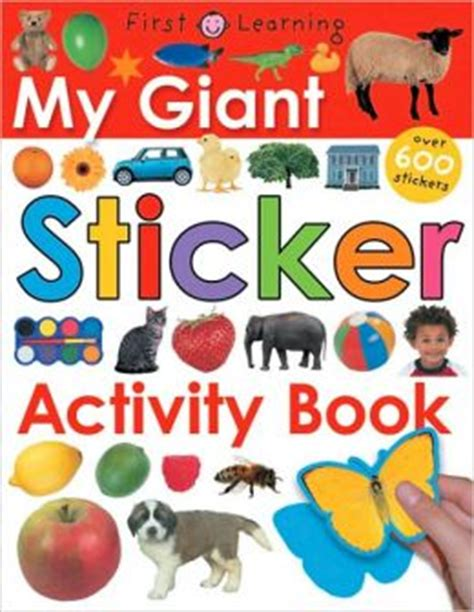 My Opposites Sticker And Activity Book my sticker activity book by roger priddy 9780312490997 paperback barnes noble