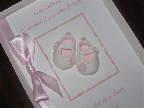 Baby Cards Handmade - handmade new baby cards personalised baby cards