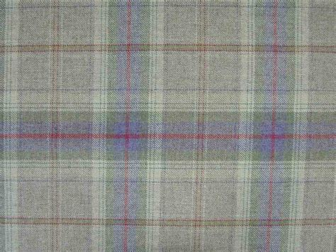 Tartan Plaid Upholstery Fabric by 100 Wool Tartan Plaid Lavender Green Fabric