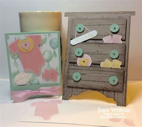 Baby Shower Gift Card Box - baby shower card and gift card holder stin scrapper
