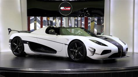 White Koenigsegg Agera Rs For Sale In Dubai Gtspirit