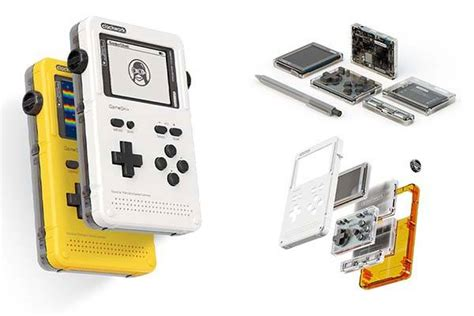 open source handheld console gameshell open source modular handheld gaming console