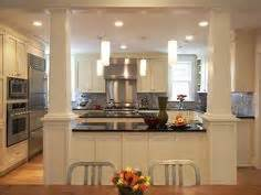 kitchen island columns 2018 incorporate a support post into kitchen island kitchen remodel open concept