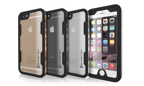ghostek atomic 2 0 waterproof for iphone 6 6s or 6 6s plus groupon