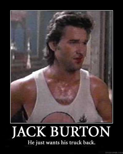 Big Trouble In Little China Meme - a kurt russell classic big trouble in little china at