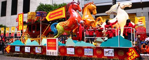 new year parade float display and fireworks chinatown new years parade free san