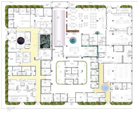cancer center floor plan oncology center floor plans senior thesis cancer center