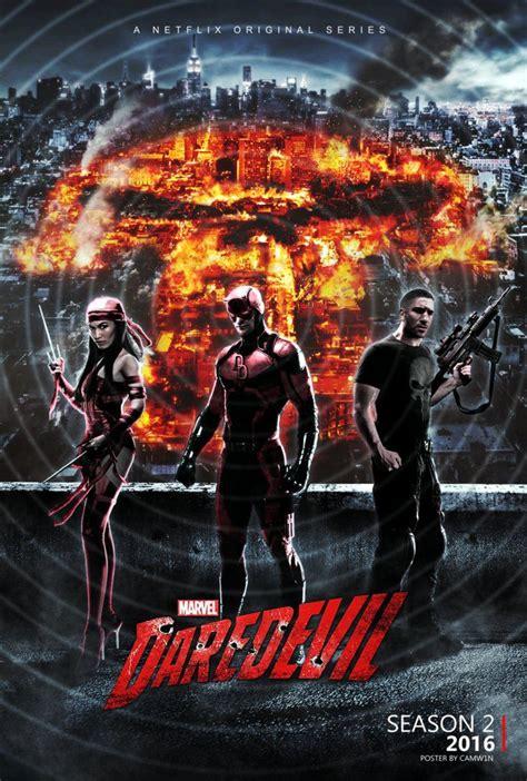 film marvel 2016 daredevil season 2 poster 2016 by camw1n daredevil