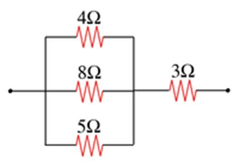 resistor network series and parallel inheritance