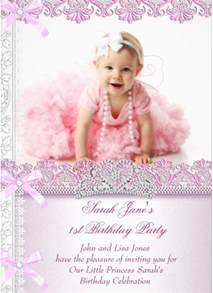 1st birthday invitation template doc 585438 1st birthday invite templates free photo
