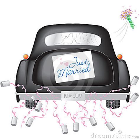 Just Married Auto Versiering by Poppie Just Married