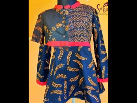 Sogan Dress Batik By Arken Batik nyai sabina sogan batik indonesia muslimah fashion