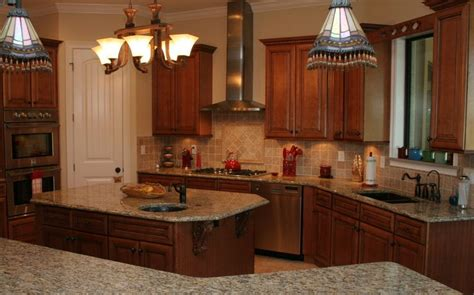 Decorating Ideas For Kitchen With Cherry Cabinets Country Cottage Decorating Kitchen With Cherry