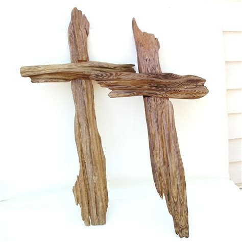 Handcrafted Wooden Crosses - handmade rustic cypress crosses large wooden crucifix wall