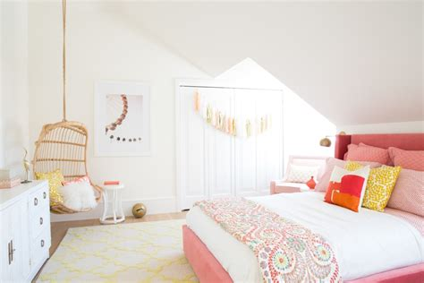 Pinterest Girls Bedroom | tour the girls bedroom behind our most popular pin on
