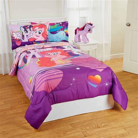 My Little Pony Pony Field Bed In Bag Bedding Set Twin Full My Pony Bedding Sets