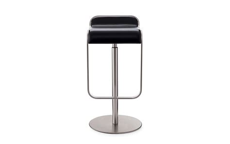lem piston stool design within reach lem piston stool with leather seat design within reach