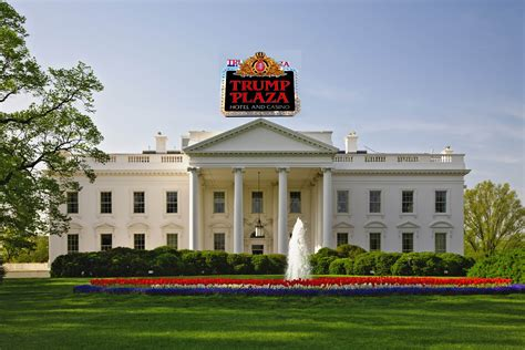 white residence trump white house casino whad ya know