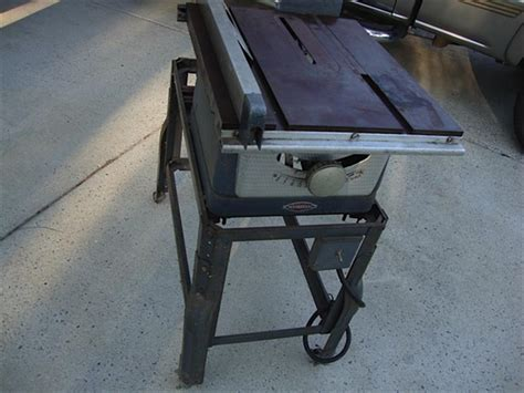 Craftsman 100 Table Saw by 1950s Craftsman 8 Quot Table Saw Model 103 22160 Us 100 00 Summerville Sc Vintagemachinery Org