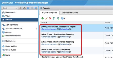 Vrealize Report Templates Vmware On Labs Hol Sdc 1431