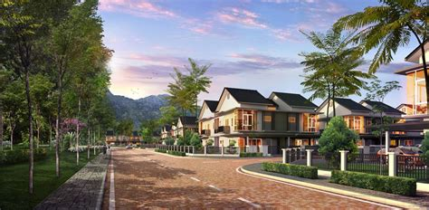 serene home serene villas cluster homes malaysia properties