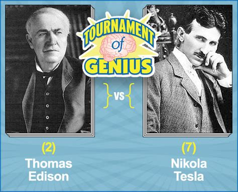 Edison Vs Tesla 2 Edison Vs 7 Nikola Tesla Mental Floss