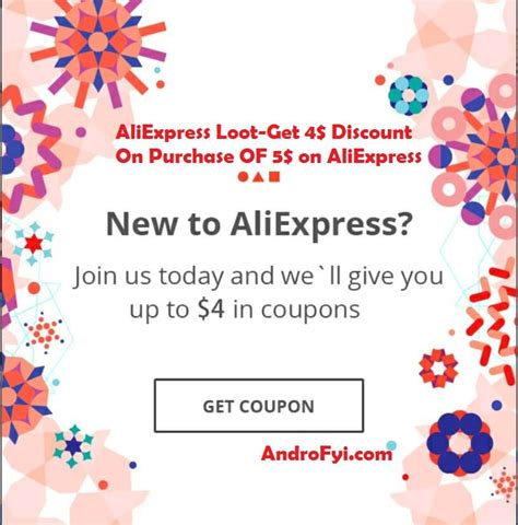 aliexpress offers aliexpress loot get 4 discount on purchase of 5 on