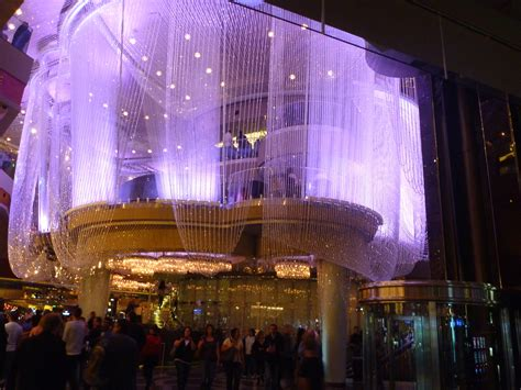 Chandelier Vegas clear chandelier bar cosmopolitan hotel casino resort lucky travelers