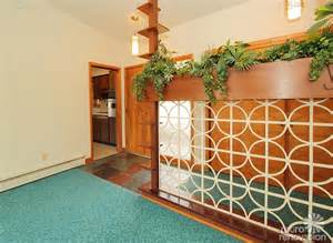 Retro Room Divider Warm And Beautiful 1962 Mid Century Modern Brick Ranch Time Capsule House Norfolk Virginia
