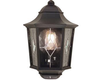 With Light For 7009 Black 43sogt elstead norfolk upright wall lantern with pir sensor black finish nr1pirblack from easy lighting