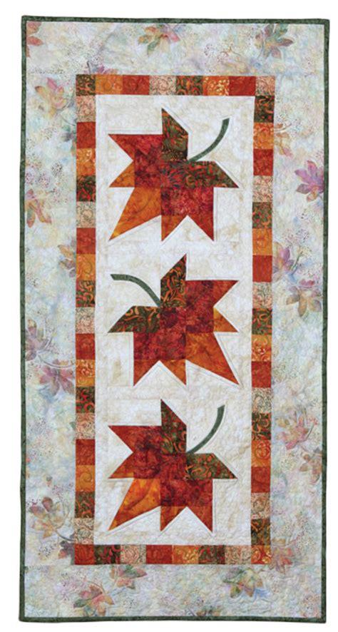 Autumn Leaves: Eleanor Burns Signature Quilt Pattern