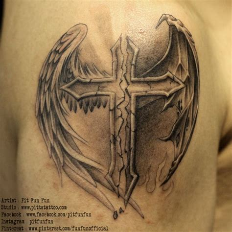 angel and devil wings tattoo designs best 25 ideas on