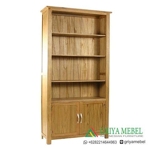 Sale Murah P Da Alma 17802 rak buku minimalis catalys jati almari buku minimalis