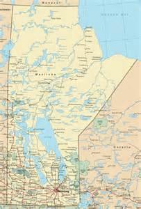manitoba road map