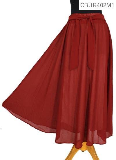 Rok Hana Polos Murah rok ceruti polos warna celana rok muslim murah batikunik