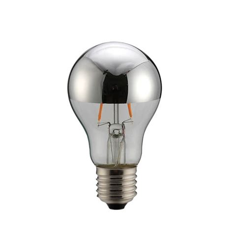 Lu Tempel Led Silver silver crown a60 led bulb temple webster