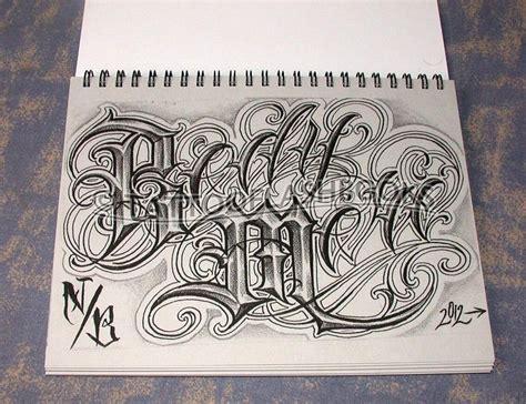 tattoo lettering design books boog norm tha union gangster chicano cholo book gun