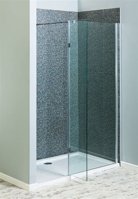 walk in shower 8mm toughened glass shower screen with