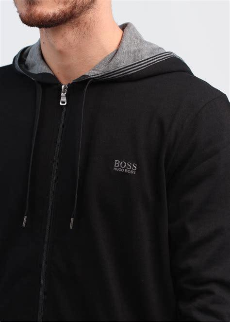 Hugo Bos Black hugo black hooded jacket black