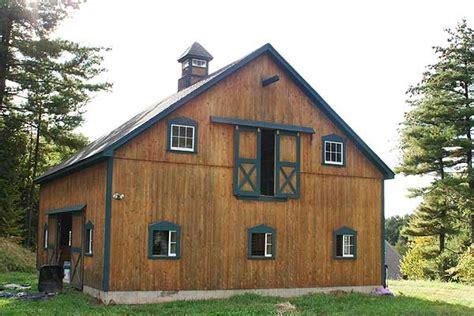 Avon Ct Custom Barns The Post And Beam Construction Barn Loft Door