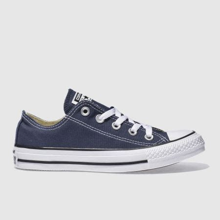 schuh shoes oxford womens navy white converse all oxford trainers schuh