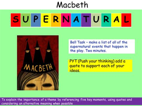 supernatural theme in an inspector calls englishgrade5 s shop teaching resources tes