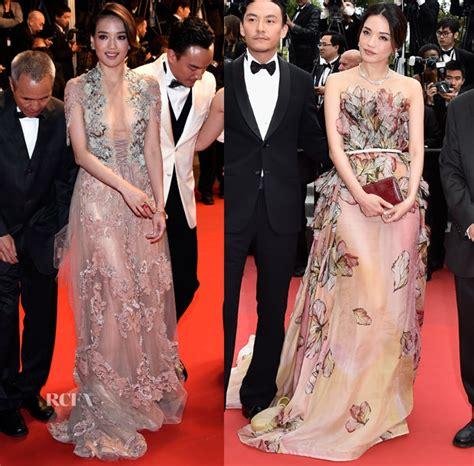 Shu Qi In Reem Acra & Elie Saab   'Nie Yinniang' Premiere & 'La Glace Et Le Ciel' Cannes Film