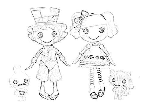 lalaloopsy coloring pages mittens alice in wonderland lalaloopsy coloring page wacky