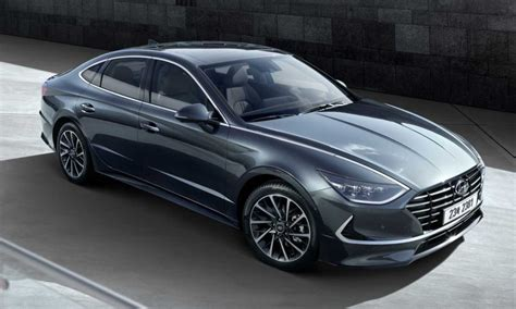Hyundai 2020 Family Car by All New 2020 Hyundai Sonata Revealed With Stunning Design