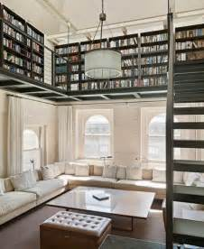 Modern Industrial Bookcase 37 Home Library Design Ideas With A Jay Dropping Visual