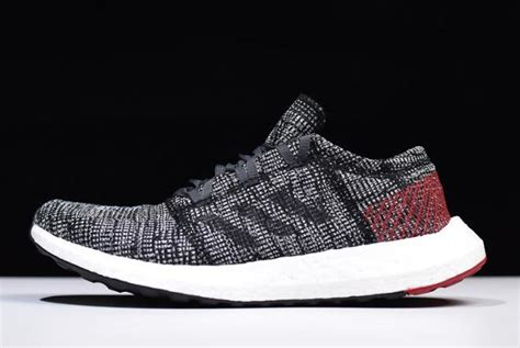 adidas pure boost  carbonblack red white ah  buy